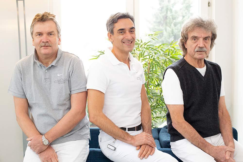 Prof. Dr. med. Gabor. Szalay | Dr. med. H.-J. Patzack | Chr. Merkelbach (Arzt in Anstellung)